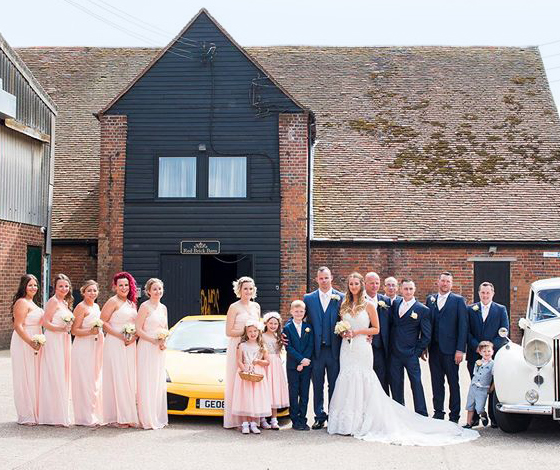 Wedding at Red Brick Barn